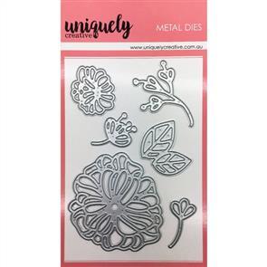 Uniquely Creative  - Doodle Flowers Outlines