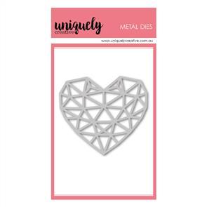 Uniquely Creative  - Geometric Heart