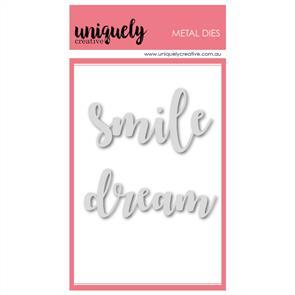 Uniquely Creative  - Dream & Smile Die Set