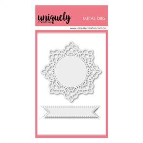 Uniquely Creative  - Doily - Die Set
