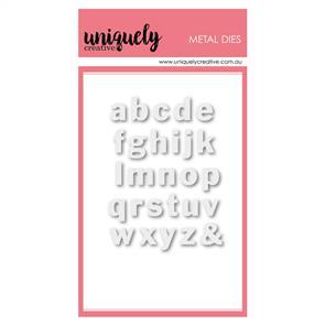 Uniquely Creative  - Small Lowercase Alpha - Die Set