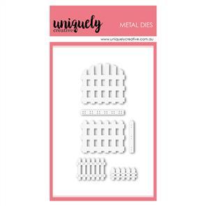 Uniquely Creative  - Little Fences - Die Set