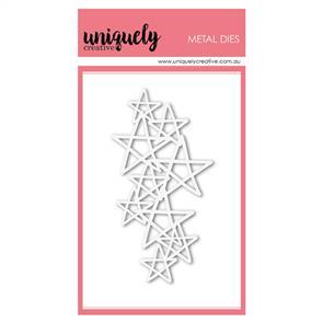 Uniquely Creative  - Scribble Star Texture Die