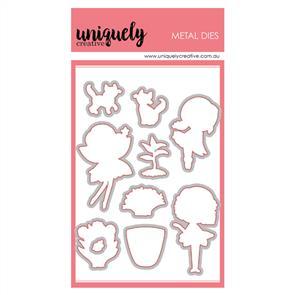 Uniquely Creative  - Garden Fairies - Die Set