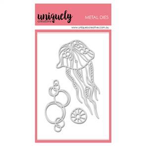 Uniquely Creative  - Sea Scribbles - Die Set