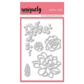 Uniquely Creative  - Succulents Outlines Die Set