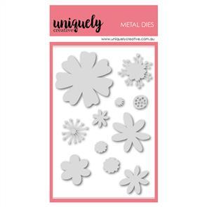 Uniquely Creative  - Modern Floral Elements Die Set