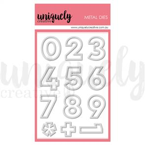 Uniquely Creative  - Giant Outline Numbers Die