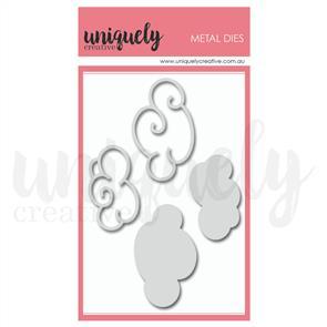 Uniquely Creative - Swirly Clouds Die