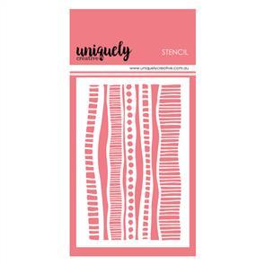 Uniquely Creative - Indigenous Stripes Stencil