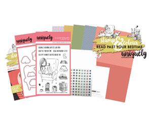 Uniquely Creative  - Read Past Your Bedtime - Stamp and Colour Kit