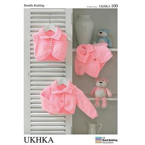 UKHKA Pattern 100 - Cardigans & Waistcoat