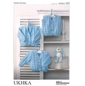UKHKA Pattern 102 - Cardigan & Waistcoat