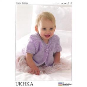 UKHKA Pattern 116 Cardigan, Hat and Scarf