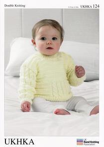 UKHKA Double Knitting Sweater and Cardigans - 124