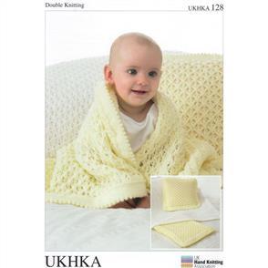 UKHKA Pattern 128 Blankets and Cushion