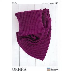 UKHKA Pattern 146 Throw and Cushion