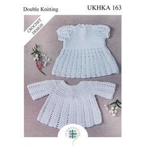 UKHKA Pattern 163 - Crochet Dress and Angel Top