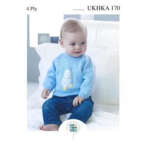 UKHKA Pattern 170 - Embroidered Sweaters