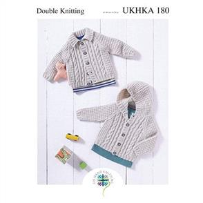 UKHKA Pattern - 180 Cardigans