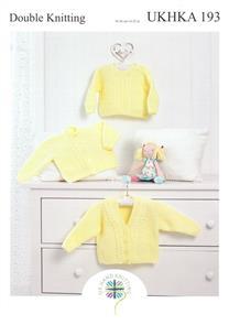 UKHKA Pattern 193 - Sweater and Cardigans