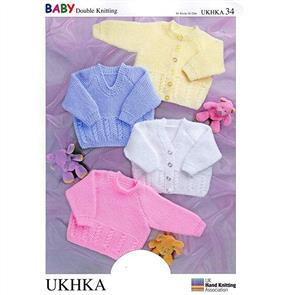 UKHKA Pattern 34 - Sweaters and Cardigans
