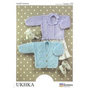 UKHKA Pattern 53 - Cardigans