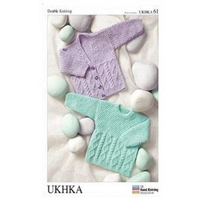 UKHKA Pattern 61 - Cardigans and Sweater