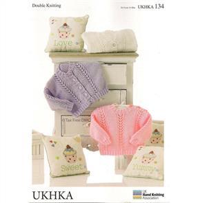 UKHKA Pattern 134 Sweater and Cardigan