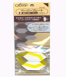 Clover Paper Long Hexagon 100/pkt 16mm