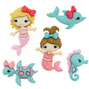 Dress It Up  Embellishments - Mermaid Kisses