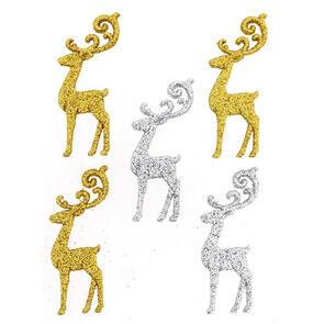 Dress It Up  Embellishments - Elegant Reindeer