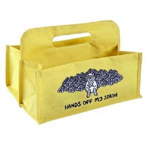 Vanessa Bee Designs  Wool Carrier - Yellow