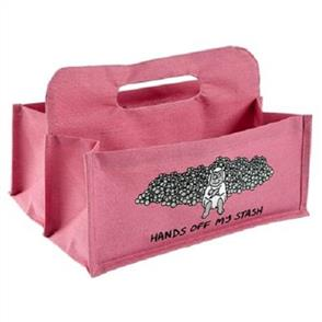 Vanessa Bee Designs  Wool Carrier - Pink