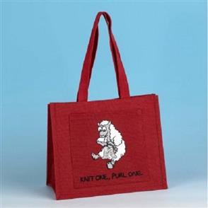 Vanessa Bee Designs  Shoulder Knitting Bag - Red