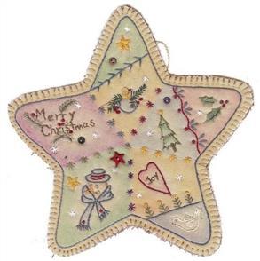 Chickadee Hollow Vintage Christmas Ornament Star