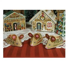 The Victoria Sampler Gingerbread Mice
