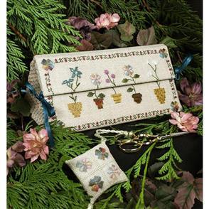 The Victoria Sampler  Floral Etui
