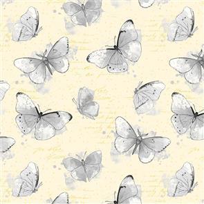 Wilmington Prints  Painting Paris - Butterflies Yellow