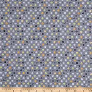 Whoo's Hoo  - Dots Grey