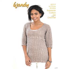 Wendy  Pattern 5717 Crochet Tunic