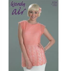 Wendy  Pattern 5724 Lacy Tee