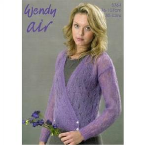 Wendy  Pattern 5764 Crossover Cardigan