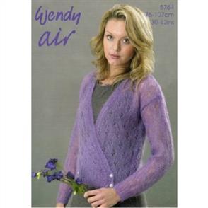 Wendy Pattern 5764 Crossover Cardigan