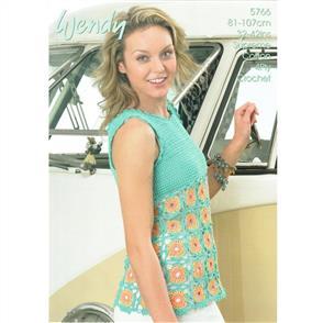 Wendy  Pattern 5766 Crochet Top