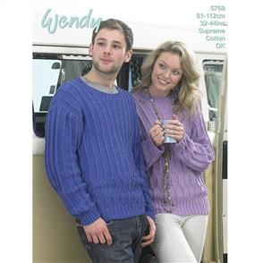 Wendy  Pattern 5768 His and Hers Sweater