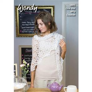 Wendy Pattern 5885 Motif Shawl
