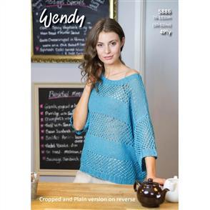 Wendy Pattern 5886 Mesh Top