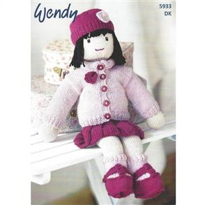 Wendy Pattern 5933 Doll