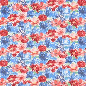 Wilmington Prints  Garden Charm - Packed Floral Cream